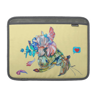 Cancer hermit MacBook sleeve