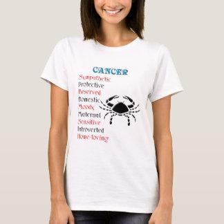 Cancer Horoscope Zodiac Sign T-Shirt