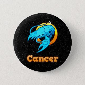 Cancer illustration 2 inch round button
