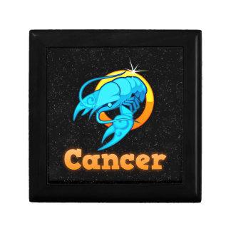Cancer illustration gift box