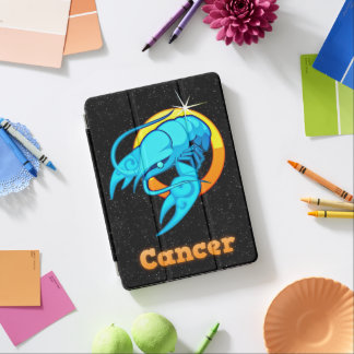 Cancer illustration iPad air cover