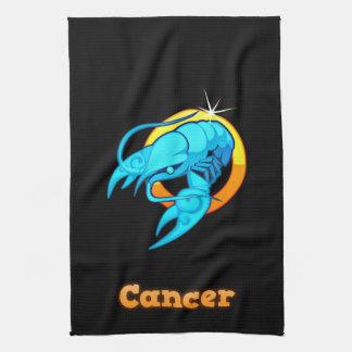 Cancer illustration kitchen towel