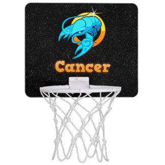 Cancer illustration mini basketball hoop
