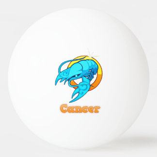 Cancer illustration ping pong ball