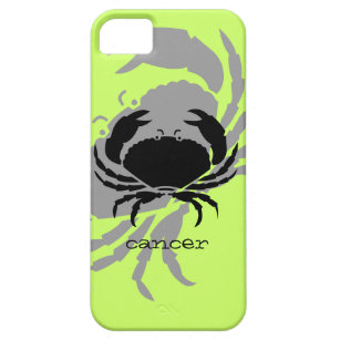 Cancer in black case for the iPhone 5