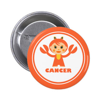 Cancer is my zodiac sign 2 inch round button