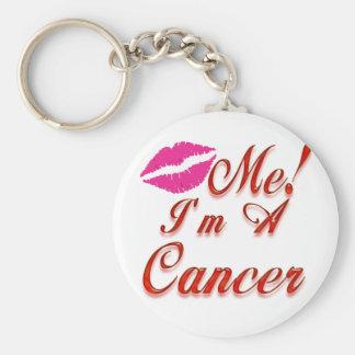 cancer kiss me zodiac keychain