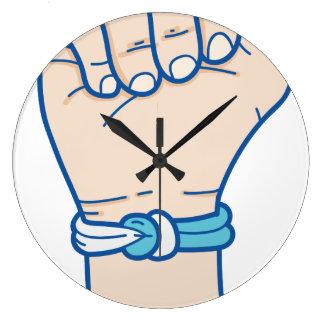 cancer men bracelet-01 large clock