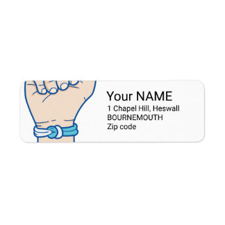 cancer men bracelet-01 return address label