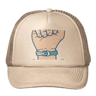 cancer men bracelet-01 trucker hat