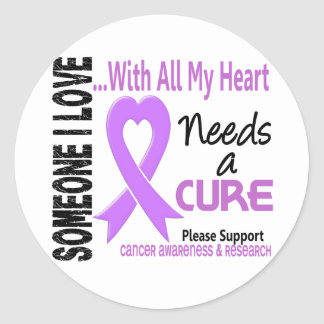 Cancer Needs A Cure 3 Classic Round Sticker
