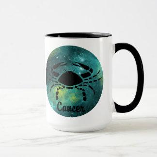 Cancer on Space Background Mug