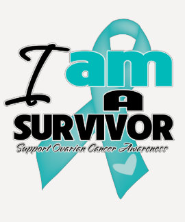 Cancer ovarien - je suis un survivant t-shirts