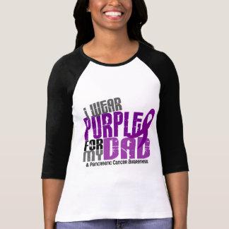 Cancer pancréatique je porte le pourpre pour mon p t-shirt