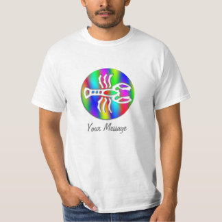 Cancer Rainbow Color Crab Zodiac Star Sign T-Shirt