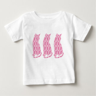 Cancer-Ribbon-CATS Baby T-Shirt