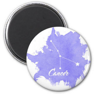 Cancer Round Magnet