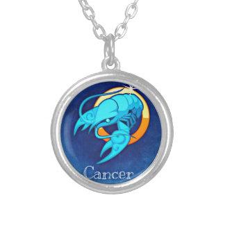 Cancer Round Pendant Necklace