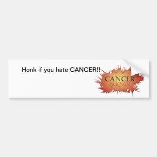 Cancer Sucks Bumper Sticker