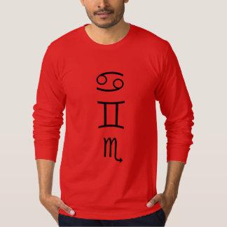 Cancer-sun, Gemini-moon, Scorpio-rising T-Shirt