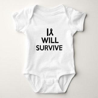 cancer survive baby bodysuit