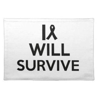 cancer survive placemat