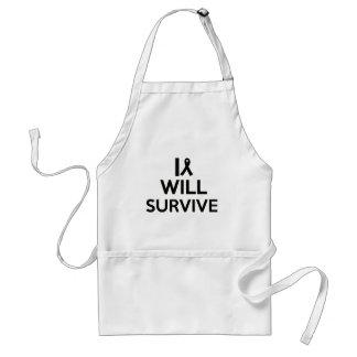 cancer survive standard apron
