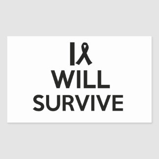 cancer survive sticker