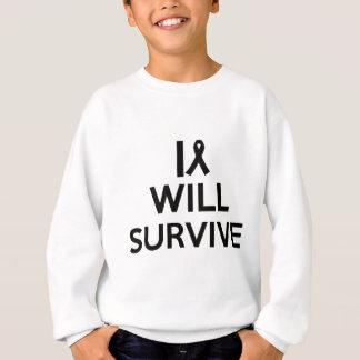 cancer survive sweatshirt