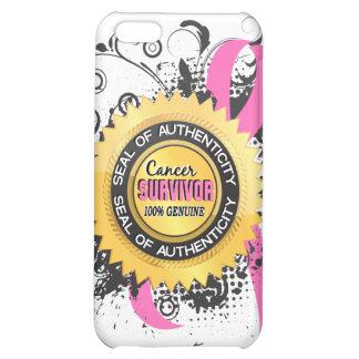 Cancer Survivor 23 Breast Cancer iPhone 5C Case