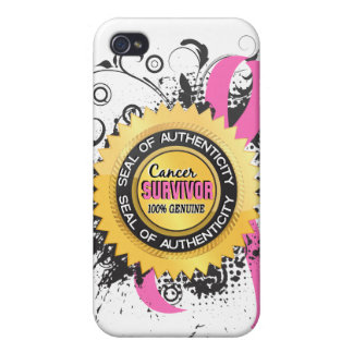Cancer Survivor 23 Breast Cancer iPhone 4/4S Cover