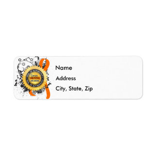 Cancer Survivor 23 Leukemia Return Address Label