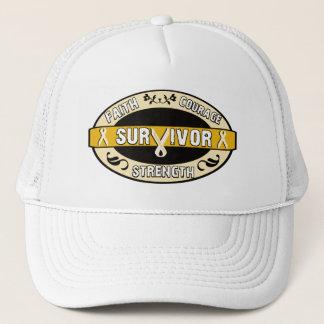 Cancer Survivor Yellow Gold Trucker Hat