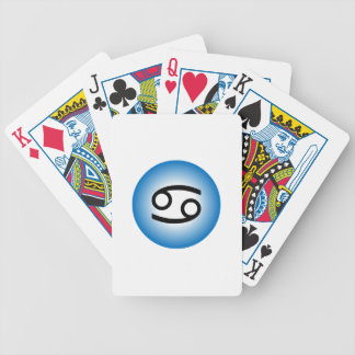 CANCER SYMBOL BICYCLE PLAYING CARDS