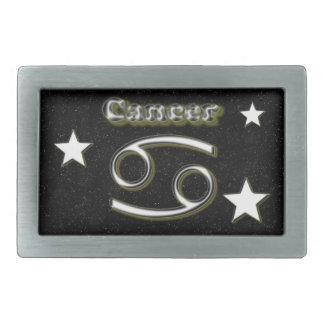 Cancer symbol rectangular belt buckle
