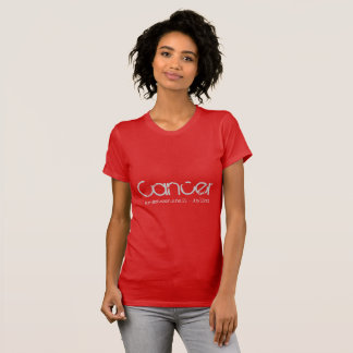 Cancer Tee-shirt In Ruby Red T-Shirt