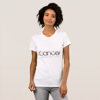 Cancer Tee-shirt In White T-Shirt