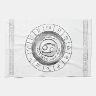 Cancer - The Crab Astrological Sign Kitchen Towel