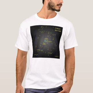Cancer the Crab Constellation T-Shirt