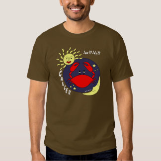 Cancer the Crab Zodiac Sign T-shirt