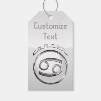 Cancer - The Crab Zodiac Symbol Gift Tags