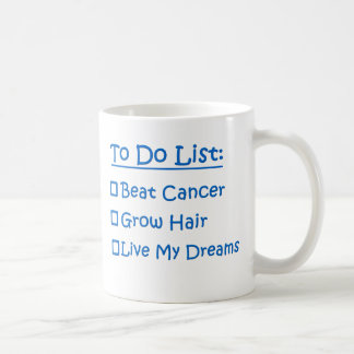Cancer To Do List Coffee Mug