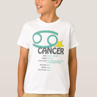 Cancer Traits Kids T-Shirt