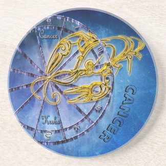 Cancer Zodiac Astrology design Coaster