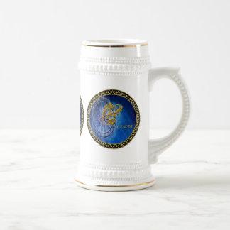 Cancer Zodiac Astrology design Horoscope Beer Stein