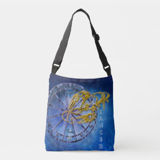 Cancer Zodiac Astrology design Horoscope Crossbody Bag