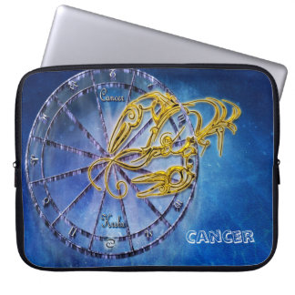 Cancer Zodiac Astrology design Horoscope Laptop Sleeve