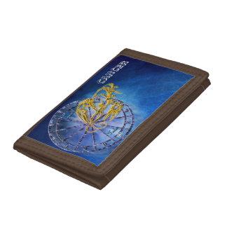 Cancer Zodiac Astrology design Trifold Wallets