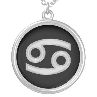 Cancer Zodiac Astrology Necklace
