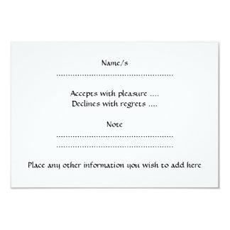 "Cancer. Zodiac Astrology Sign. Black. 3.5"" X 5"" Invitation Card"